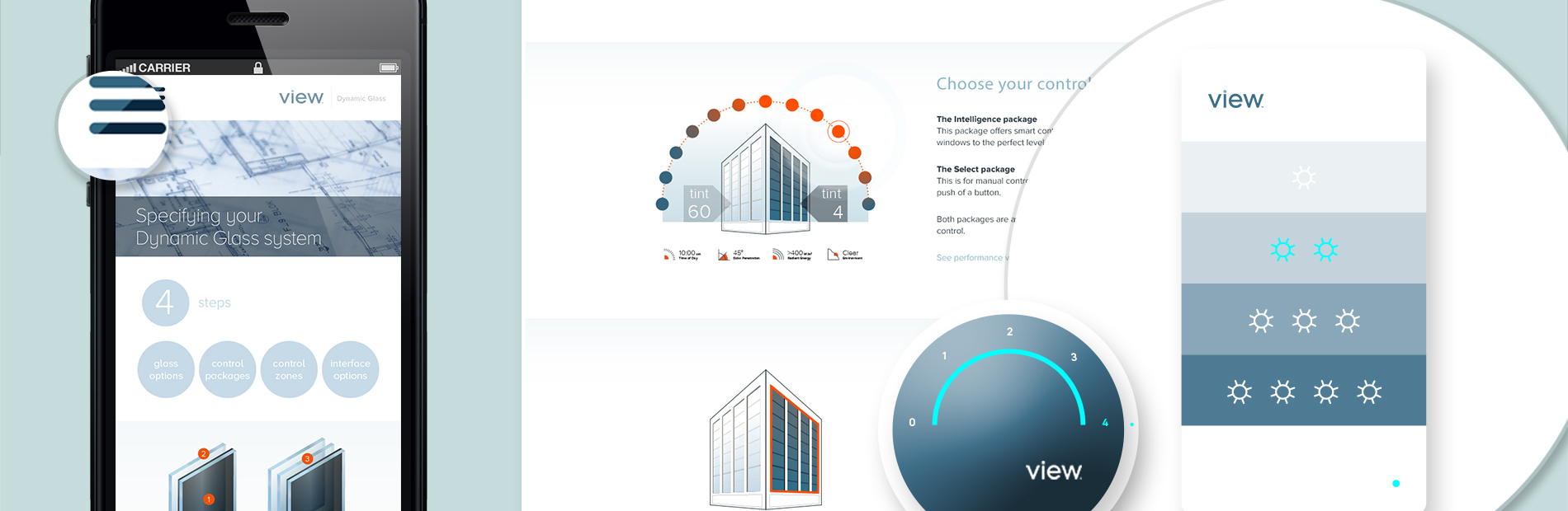 View Dynamic Glass Responsive Website - Liz Chang